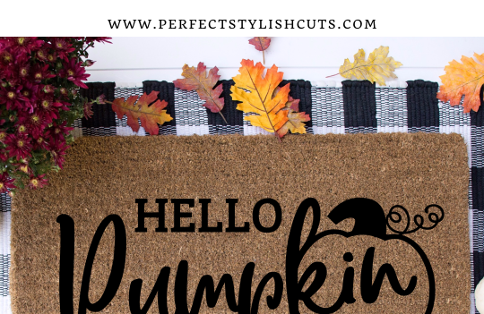 Hello Pumpkin FREE SVG Cutting File