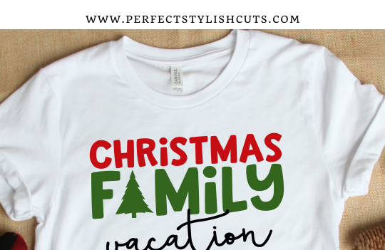 FREE Christmas Family Vacation SVG File