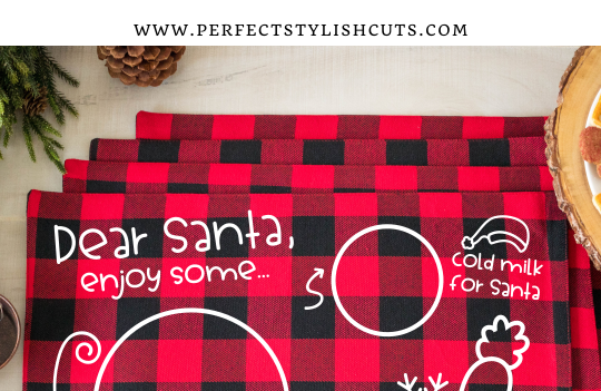 FREE Dear Santa Placemat SVG File
