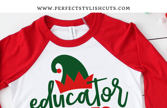 FREE Educator Of Elves Christmas Teacher SVG File