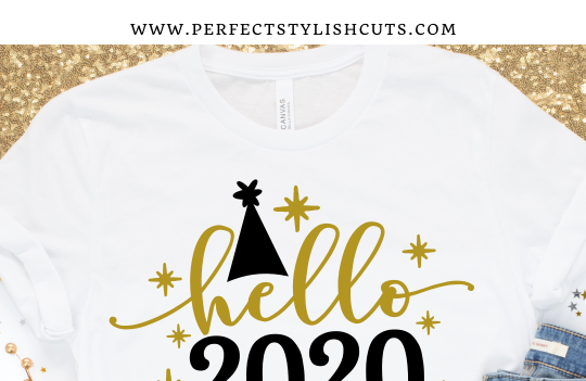 FREE Hello 2020 SVG File