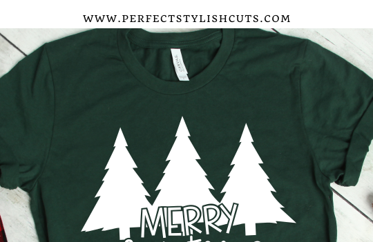 FREE Merry Christmas Trees SVG File