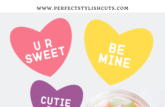 FREE Conversation Hearts SVG File