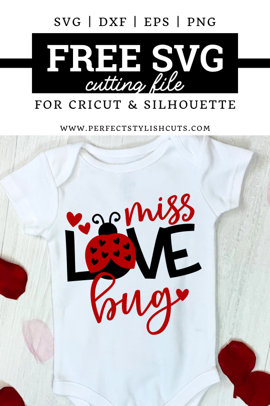 FREE Miss Love Bug SVG File