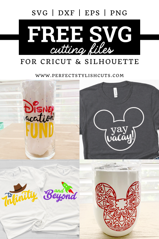 FREE Disney Vacation SVG Files for Cricut and Silhouette Crafts