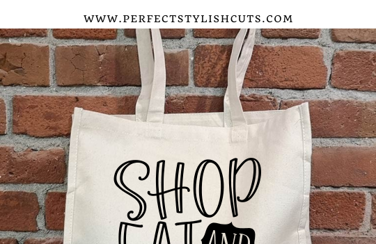 FREE Shop Eat And Support Local SVG File