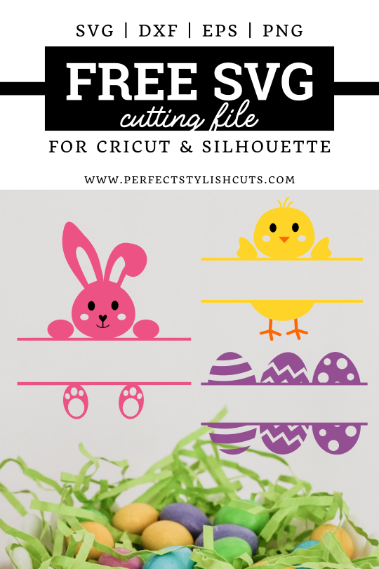 FREE Easter Basket Monograms SVG File
