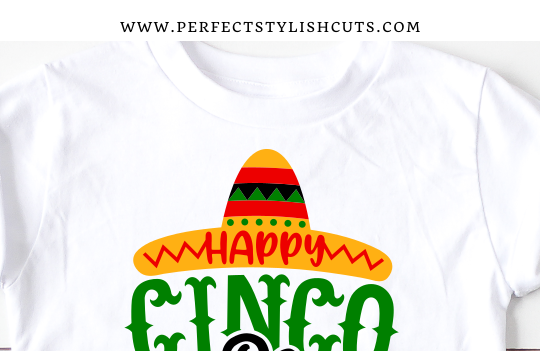 FREE Happy Cinco De Mayo SVG File