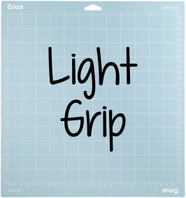 Have you ever wondered what the blue Cricut light grip mat is used for? Here is a list of materials that you can use on your blue Cricut light grip cutting mat.