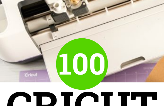 100 Cricut Project Ideas to customize, make and sell with your cutting machine.